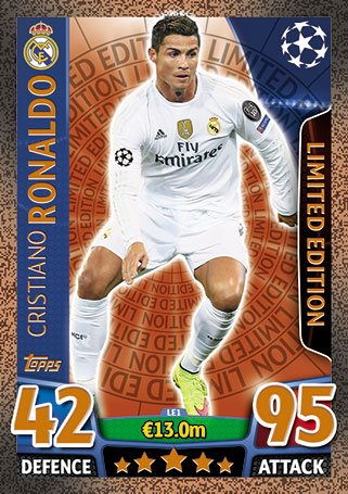 Match Attax UCL 2015-2016 Limited Edition Collection #matchattax #topps #UCL #gotgotneed #collectswapplay #backintheday https://1drv.ms/u/s!AuBkjFP0LKfcgaEis2-vbMUUHvY2hA?e=2vmdfc…