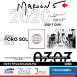 Image for the Tweet beginning: 2.23.20.  Foro Sol Mexico City, Mexico #MemoriesTour