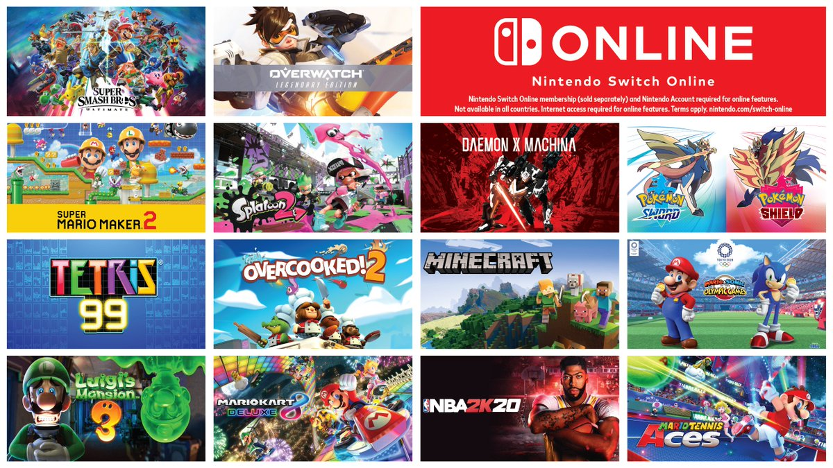 test Twitter Media - Battle it out online, or team up with friends in your favorite games with a #NintendoSwitchOnline membership!  Learn more: https://t.co/74Hzxk9spt https://t.co/9hOFvNVo21