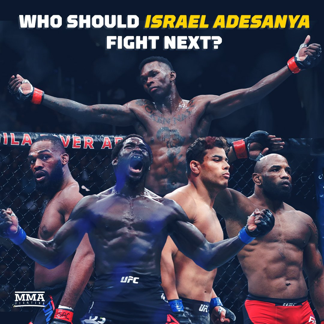 If it was up to you, who would @stylebender face next inside the #UFC Octagon? 🤔