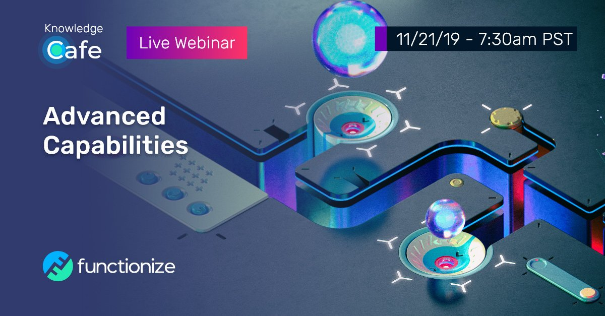Don't forget to join the next Functionize Webinar this Thursday on Advanced Capabilities!  Explore some of the advanced capabilities frequently used by our customers on 11/21/19 at 7:30am PST.  Register here:   https:// zoom.us/webinar/regist er/WN_Ex2R80nJTJyDhBZSg5GAzQ?_hsenc=p2ANqtz-_IGJ0-zX3BRp-Wa0b_gMH4Is6mnLcqn_tJf-ti86S3ClNeDySMK3OMnOM1jMvuccRjRCy2  …   #softwaretesting #testingautomation<br>http://pic.twitter.com/1h2LOvdNjA