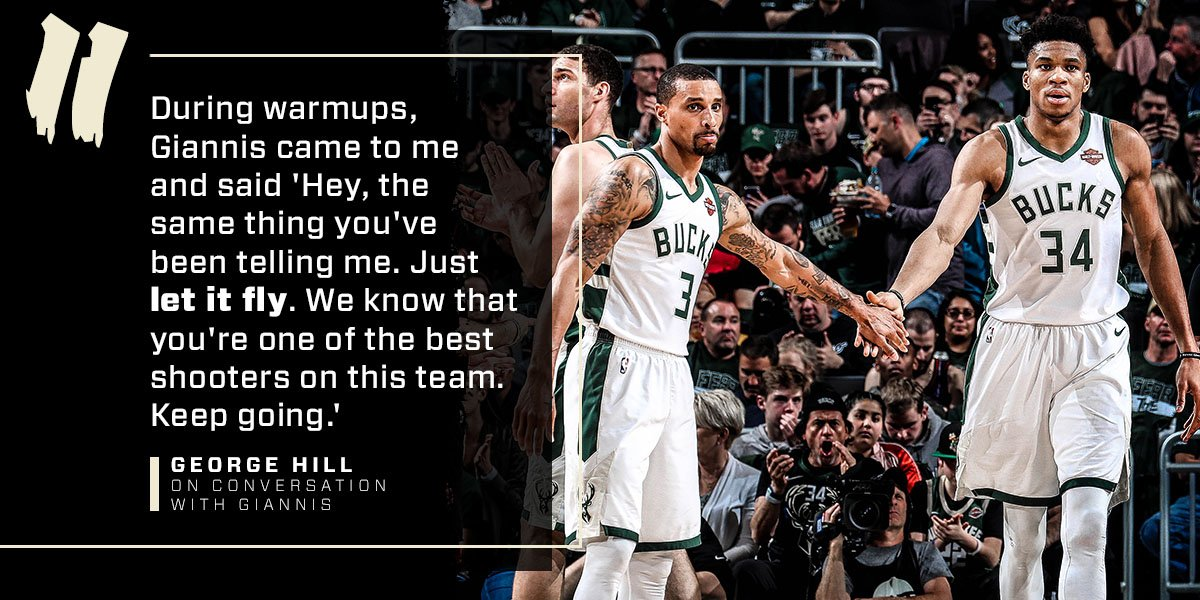 Wise words from the MVP. #FearTheDeer