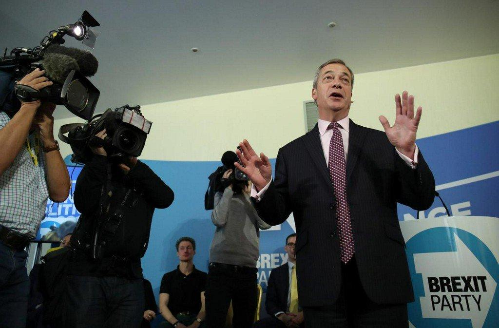 Sex scandal damages royal family's standing - Brexit Party's Farage https://reut.rs/2KESjxw