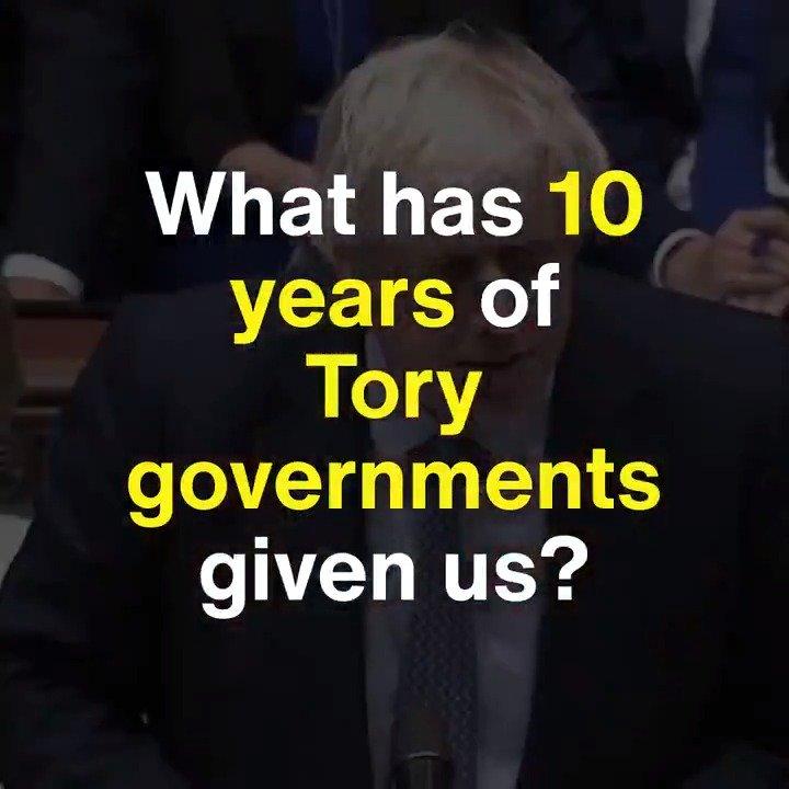 We cant survive another 5 years of Tory cruelty. #LeadersDebate #AskBorisJohnson #ITVDebate