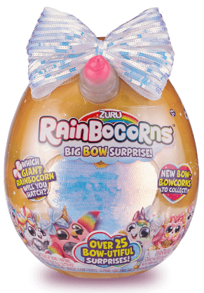 Gift #Rainbocorns by #ZURU #kids Love the #Surprises a teal #egg, hatching hint, #scented #Plush, #surprise sequin #heart #Collectible coll Boo Boocorns, #rainbocorn #poop, sticker & guide #holidays #giftideas #girl #gift