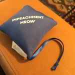 Image for the Tweet beginning: Impeachment Meow.