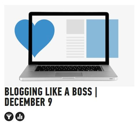 Want to start a successful blog?Only a few seats left for Blogging Like A Boss #Class on 9th of December (6PM to 8PM) by Christopher #Melotti and General Assembly #Sydney! This one is not to be missed.Register now:https://generalassemb.ly/education/blogging-like-a-boss/sydney/84578…@GA @SydneyGA #blog #blogging