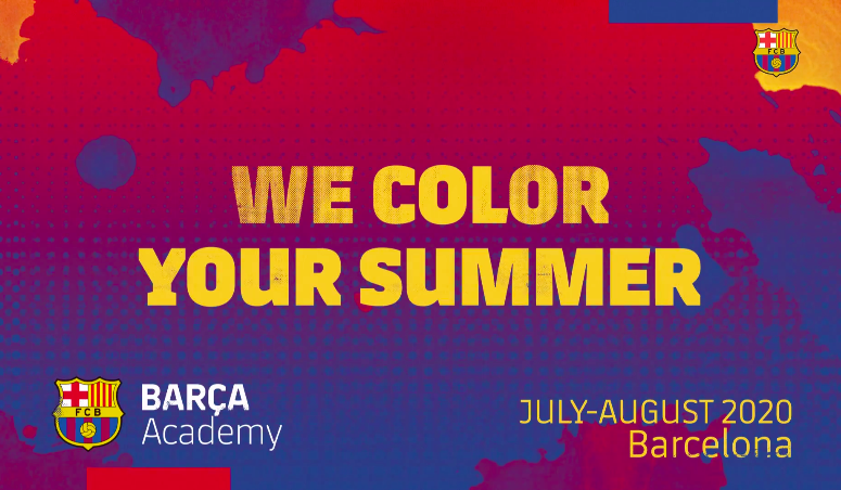 #BarçaAcademySummerCamps 2020!   Train on  @BarcaAcademy fields   Have the time of your life   Make friends from around the world   A 100% Barça Experience    Request more information:  http://barca.link/tNUg30pUyJH