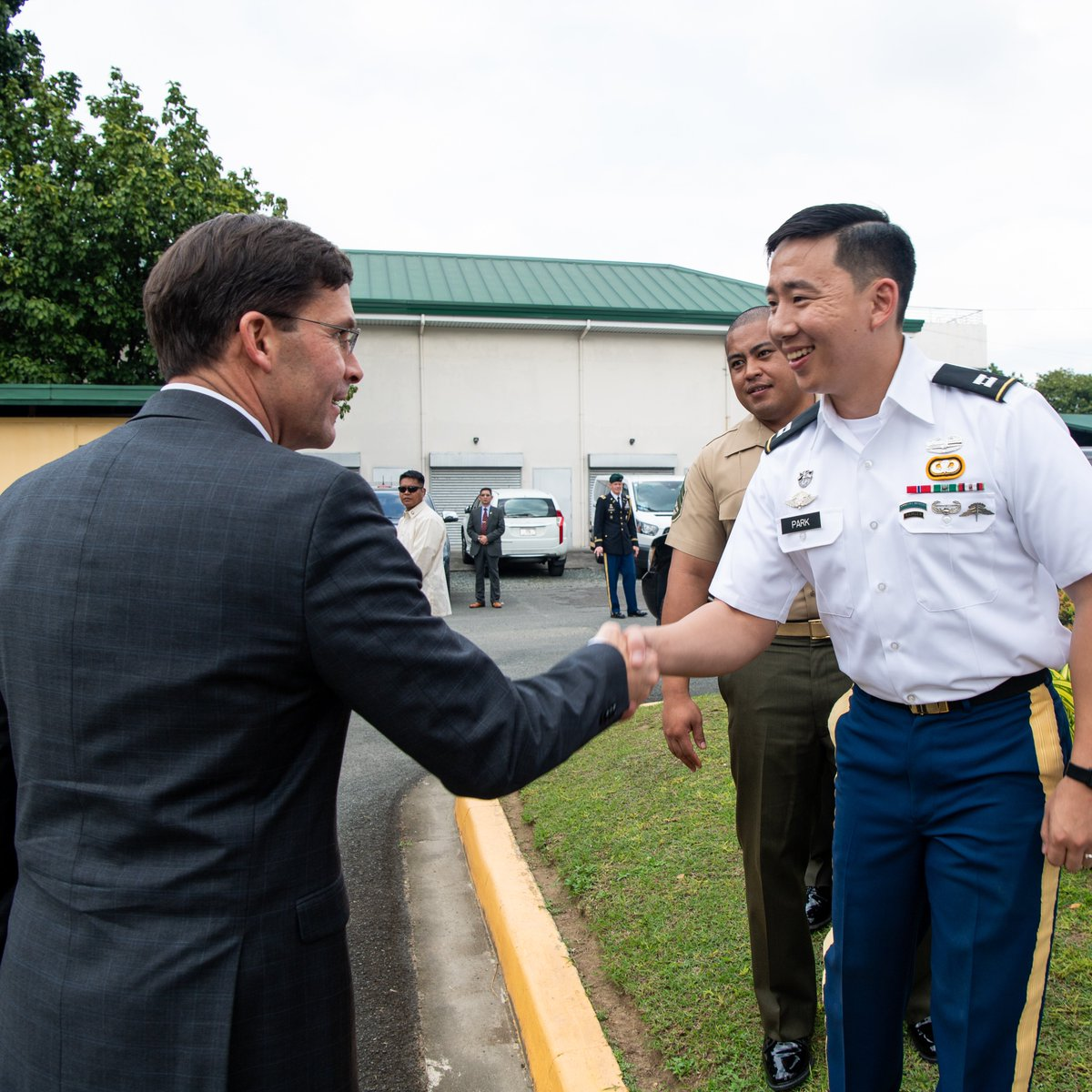 Enjoyed meeting with our military members serving in the Philippines! It was my distinct honor to spend time with you yesterday. I am grateful for your contributions which strengthen the alliance and your service to our Nation.