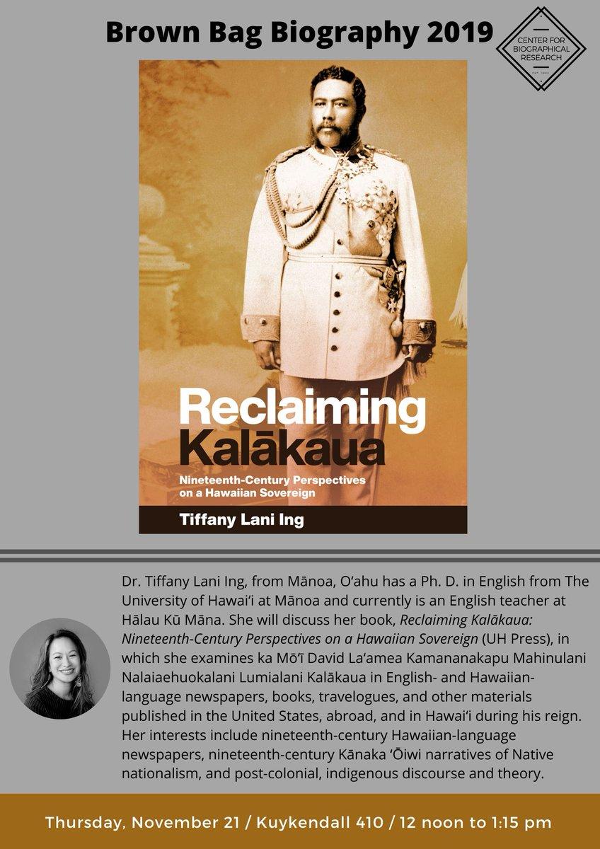 Image for the Tweet beginning: Tiffany Lani Ing joins us