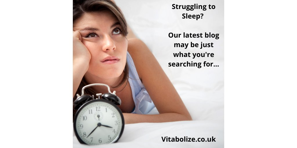 😴 Find yourself waking up during the night?😴 Waking up tired in the morning?😴 Struggling with insomnia?👍 We've just updated our blog on getting a good nights sleep.https://www.vitabolize.co.uk/post/5-tips-to-a-good-nights-sleep …#sleepwell #insomnia #wellbeing #feelgood #wellbeing #blogger #sleep