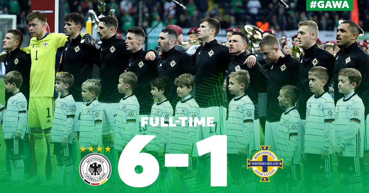 We led in Frankfurt but Germany turned it on. 👏🏼 #GAWA