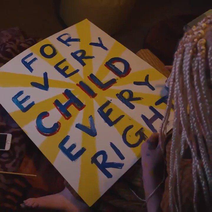 Image for the Tweet beginning: These inspiring children are speaking