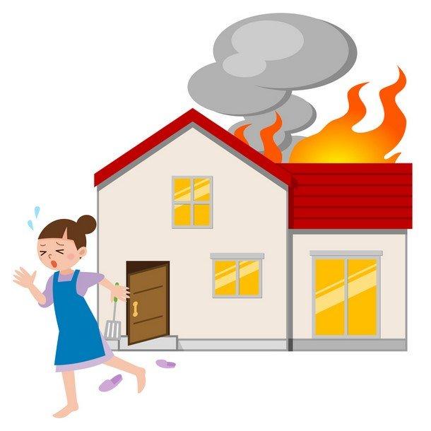 火事の体験談。隣りの家から火が出ている!だから火災保険は大切  https://www.hokenwalker.com/experience-of-fire/… #補償 #火災保険 #火事 #賠償