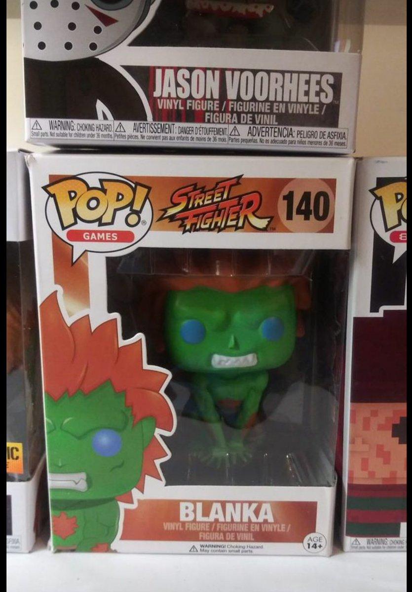 Funko Pop Games Street Fighter Blanka Vinyl Action Figure