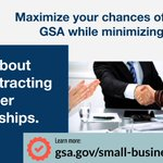 #TipTuesday - Maximize your chances of selling to GSA while minimizing your risk. Learn about subcontracting and other partnerships from https://t.co/ne5M9Lq2jb.  #NationalEntrepreneursDay #NationalEntrepreneurshipMonth