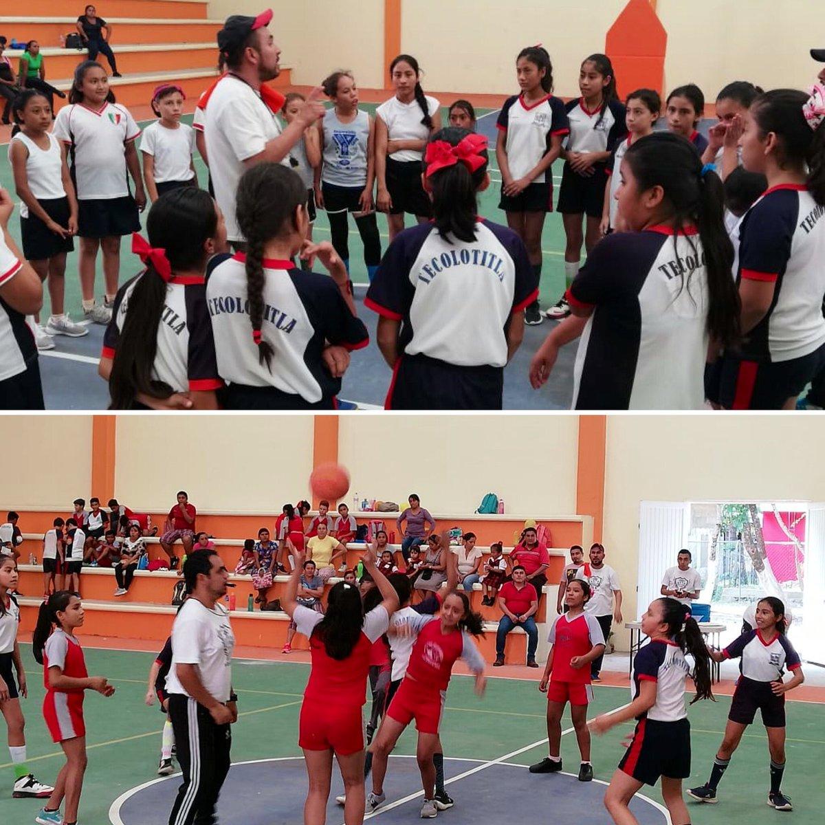 Con sede en Atlapexco, se realizan las finales de Básquetbol para los equipos de la Supervisión 14 Huejutla, rumbo a los Juegos Nacionales Escolares de #EducaciónBásica @SEPHidalgo