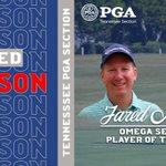 Image for the Tweet beginning: Congratulations @jaredmelsonpga for winning the