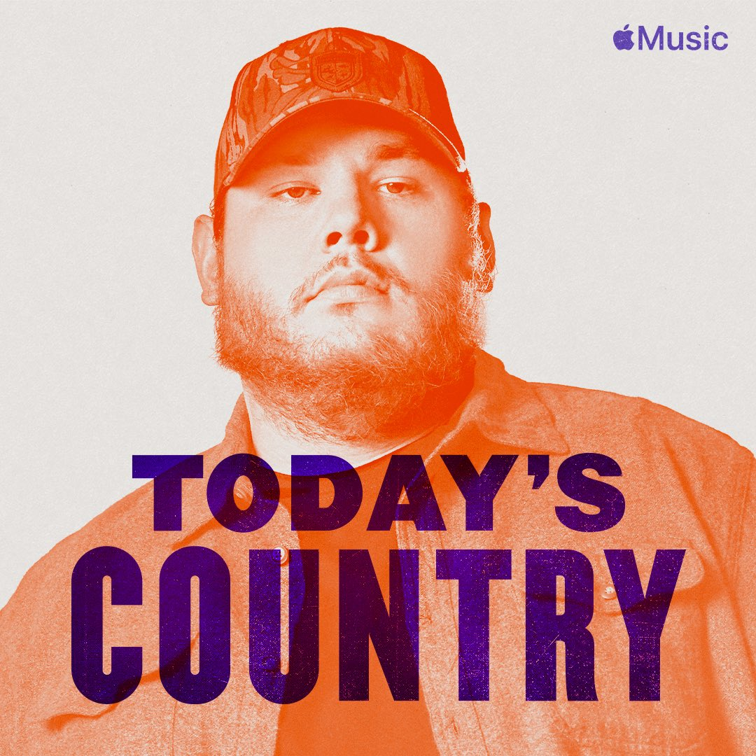 "Listen to my single ""Even Though I'm Leaving"" on the new #TodaysCountry playlist on @AppleMusic: http://apple.co/LukeCombsOnTodaysCountry …"