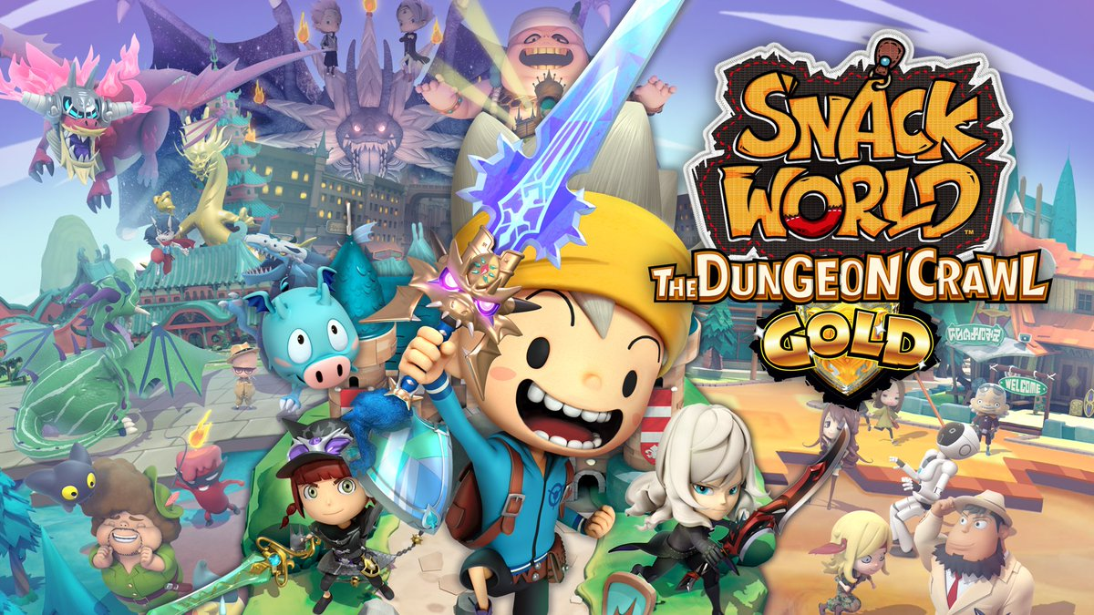 New Level-5 RPG Snack World Announced For Nintendo Switch, Coming 2020 - GameSpot