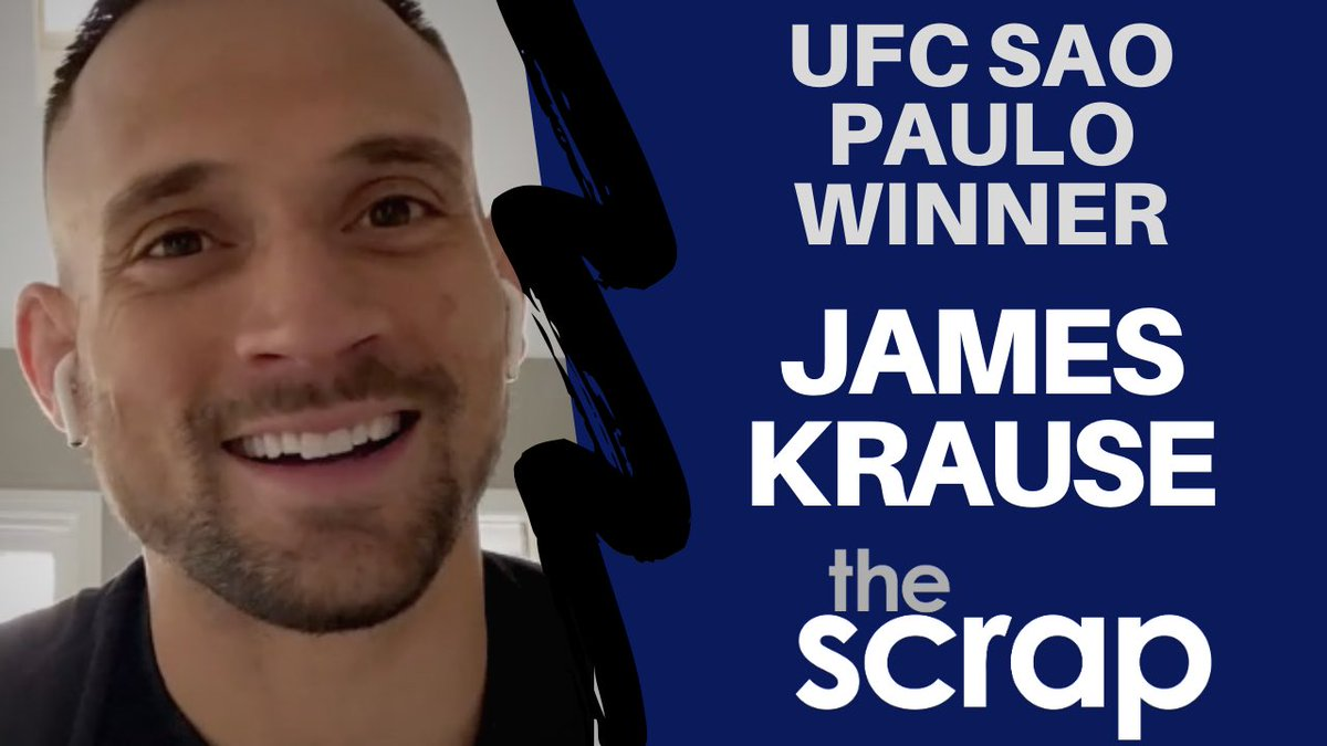 .@TheJamesKrause isn't thinking at all about his next fight. In fact, he put his coaching hat back on immediately following his impressive KO win at #UFCSaoPaulo in my latest for @thescrapnews. https://youtu.be/LtF3OcJc0Vw