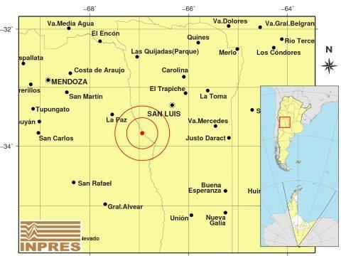 Fuerte sismo de 6° en Mendoza se sintió en varias provincias