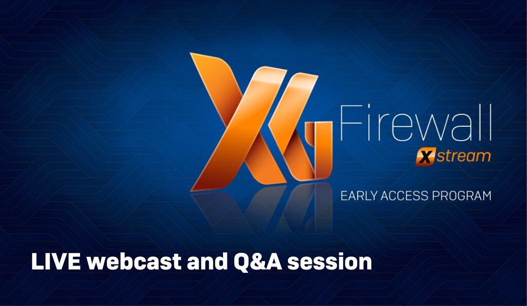 🎙️Did you miss our XG Firewall v18 overview webcast and LIVE Q&A session? No worries, we recorded it just for you: vimeo.com/373499629