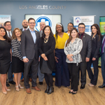 Image for the Tweet beginning: CEOTour Day23 @LACountyDCBA small, mighty