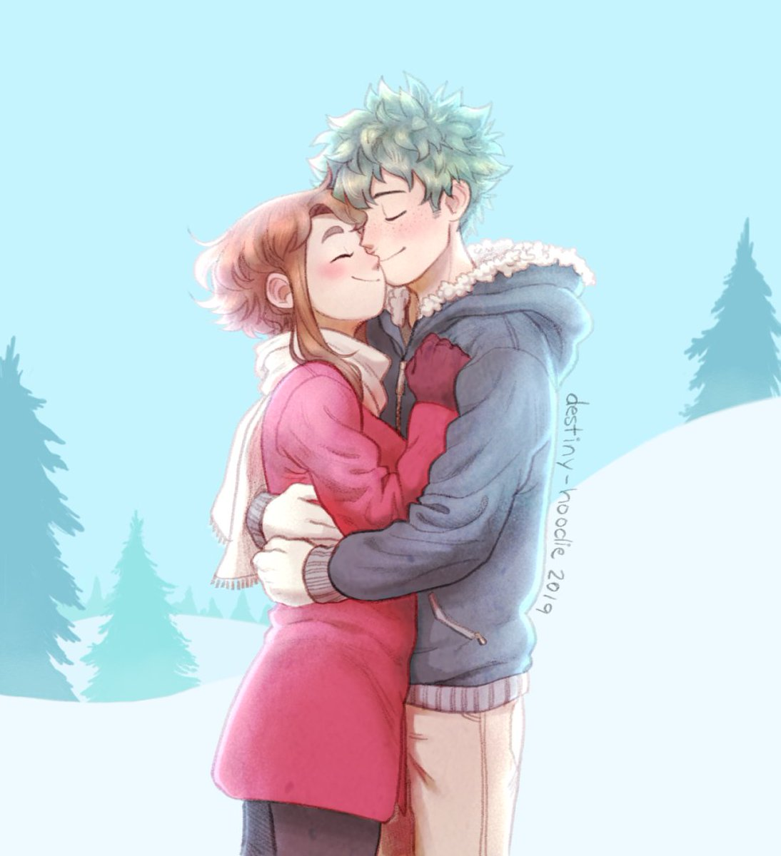 Here's some winter izuocha! <br>http://pic.twitter.com/OxoDvw0BJ6