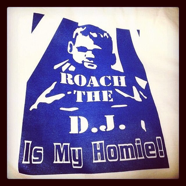 Respect to the gawds... #RoachtheDJismyhomie