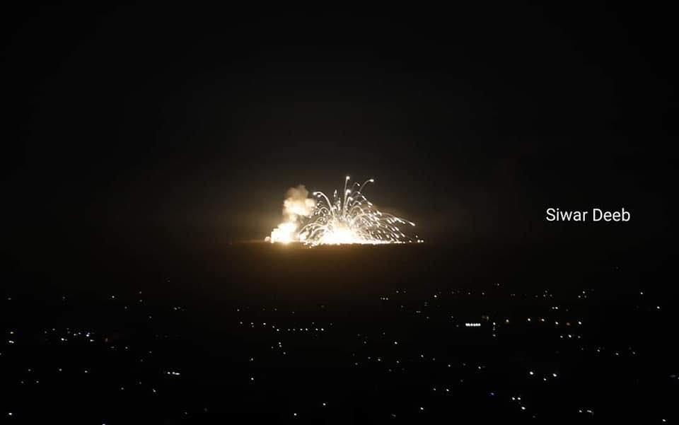 Удары к югу от Дамаска. 20.11.2019