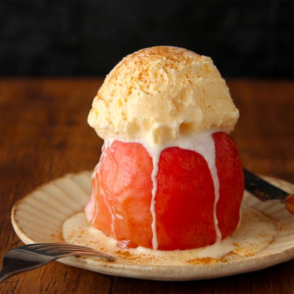 【レシピ】『ずぼら焼きりんご』オーブンなし。レンジ5分で超簡単です