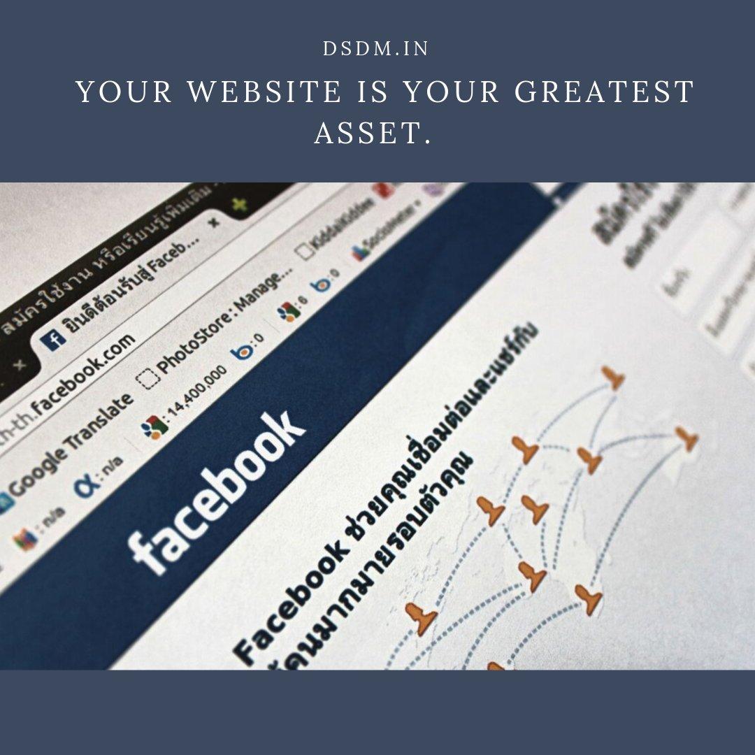Your website is your greatest asset. #website #websitedesign #websites #websitedesigner #WebsiteDevelopment #websitelaunch #WebsiteComingSoon #websitebuilder #websitedeveloper #websitetraffic #websitesi #websitetips #websiteredesign #WEBSITEDESIGNS #websitemarketing #WebsiteMaker<br>http://pic.twitter.com/uuEC3n22F1
