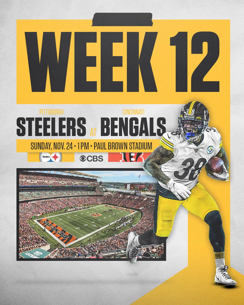 RT @Steelersdepot: Offensive & defensive rankings for #Steelers and #Bengals ahead of the Sunday game in Cincinnati. #HereWeGo #Pittsburgh…