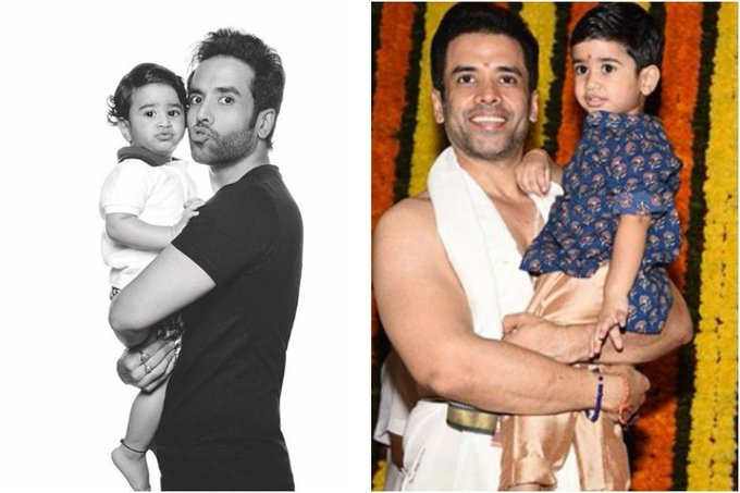Happy Birthday Tusshar Kapoor: 5 Pics That Prove His Son Means the World to Him