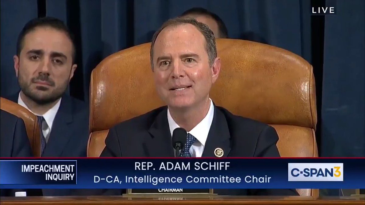 Replying to @funder: Schiff's closing statement is everything
