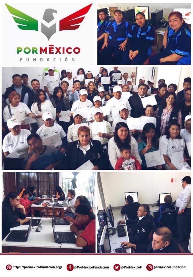 ¡Los beneficiarios son nuestra principal razón de ser, conoce sus experiencias y vivencias dentro de #FundaciónPorMéxico!  Así como ellos, tú también obtén tu Certificado de #EducaciónBásica completamente #GRATIS.  Regístrate en   #PorUnMéxicoGanador
