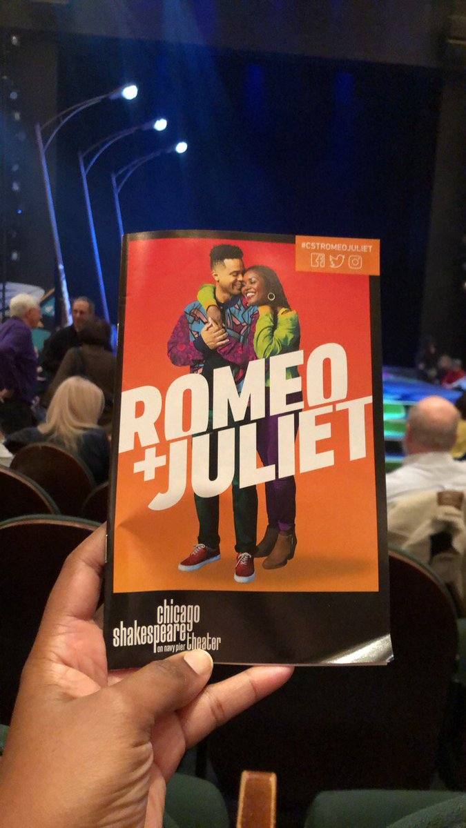 I was invited to check out #cstRomeoJuliet @chicagoshakes and I always love how they re-imagine the classics while staying true to the stories.  This limited engagement runs through December 22nd!     #chicago