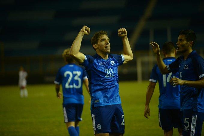 Liga de Naciones CONCACAF 2019: El Salvador 2 La Republica Dominicana 0. EJyTupgXUAAuDpB?format=jpg&name=small
