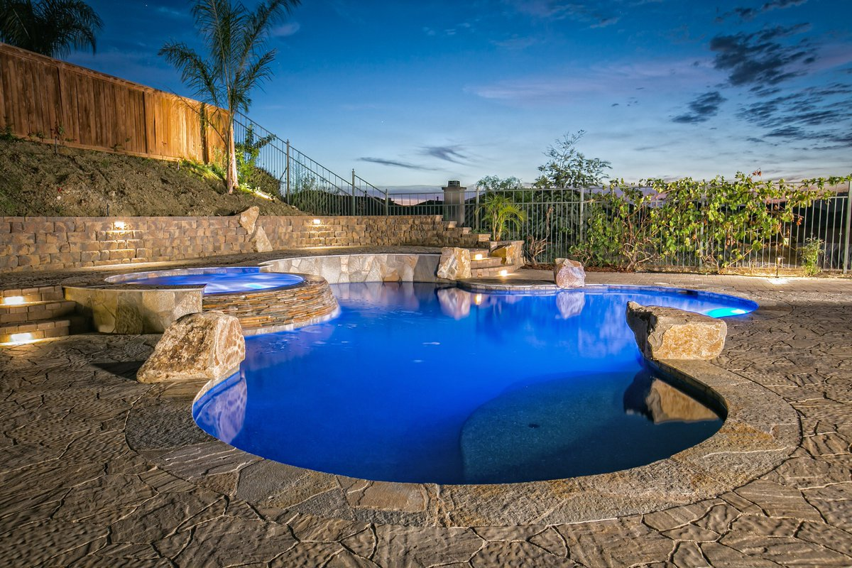 In #California its always #pool season.  San Diego Pavers Contact us today at 760-571-9900.  #SanDiego #Pavers #Belgard #LandscapeDesigner #OutdoorLiving #Firefit #Remodel #CurbAppeal #Upgrade