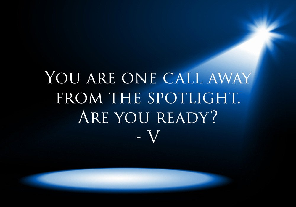 You're one call away from the spotlight.  Are you ready? #entertainmenttribe #entertainmentindustry #entertainmentaccelorator #artist #creative #influencer #entrepreneur #actor #model #singer #songwriter #musician #dancer #entertainer #followyourdreams #liveyourdreams