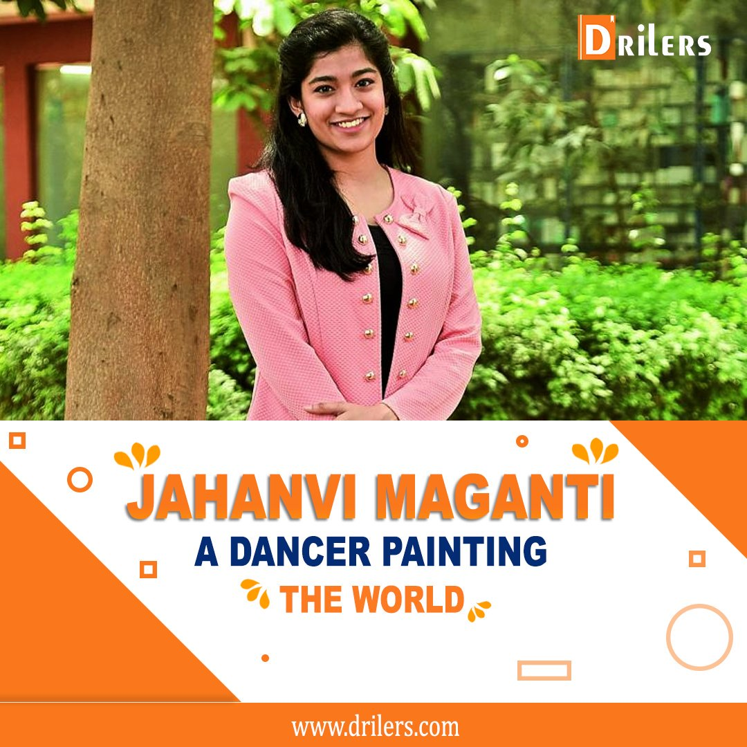 The pure form of art needs ultimate perseverance and passion! Jahanvi Maganti is one of her kind painters who holds the world record of drawing the biggest painting with her feet.  #knowmebetter #indiantalent #womenwednesday #artist #painter #dancer #art #india