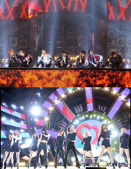 SBS Gayo Daejeon Lineup 1 December 25 GOT7 NUEST Red Velvet Mamamoo BTS SEVENTEEN TWICE n.news.naver.com/entertain/arti…