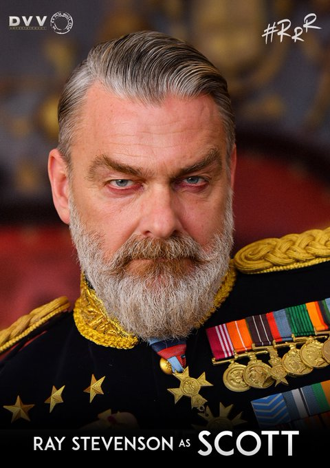 RRR movie villain Ray Stevenson