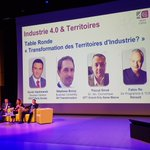 Image for the Tweet beginning: Industrie 4.0 & Territoire conference: