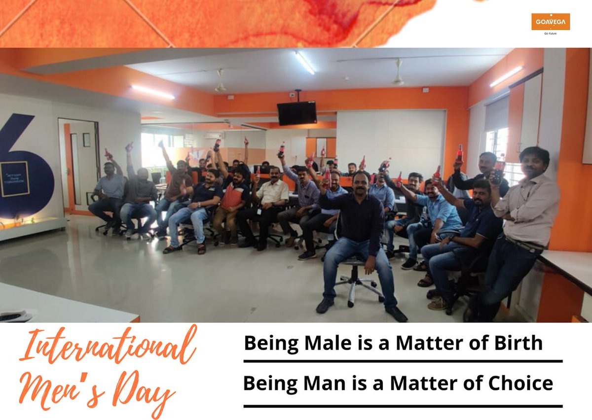 On this occasion, we would like to appreciate and thank our men for what they do. We are forever in debt for their contributions and sacrifices. The community is incomplete without you all.  #Goavega #TeamGoavega #teamwork #mensday2019 #internationalmensday<br>http://pic.twitter.com/I0YrBTqBld