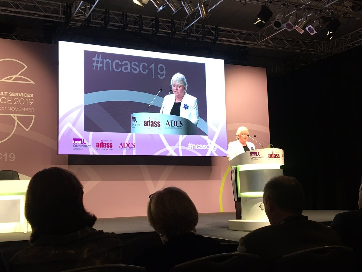 """test Twitter Media - """"We need a 10 year plan for adult social care"""" @1adass Julie Ogley's opening address at #ncasc19 https://t.co/4Vcnyxexn0"""