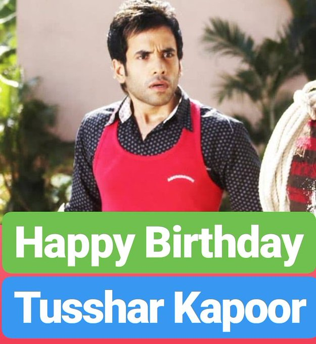 Happy Birthday  Tusshar Kapoor