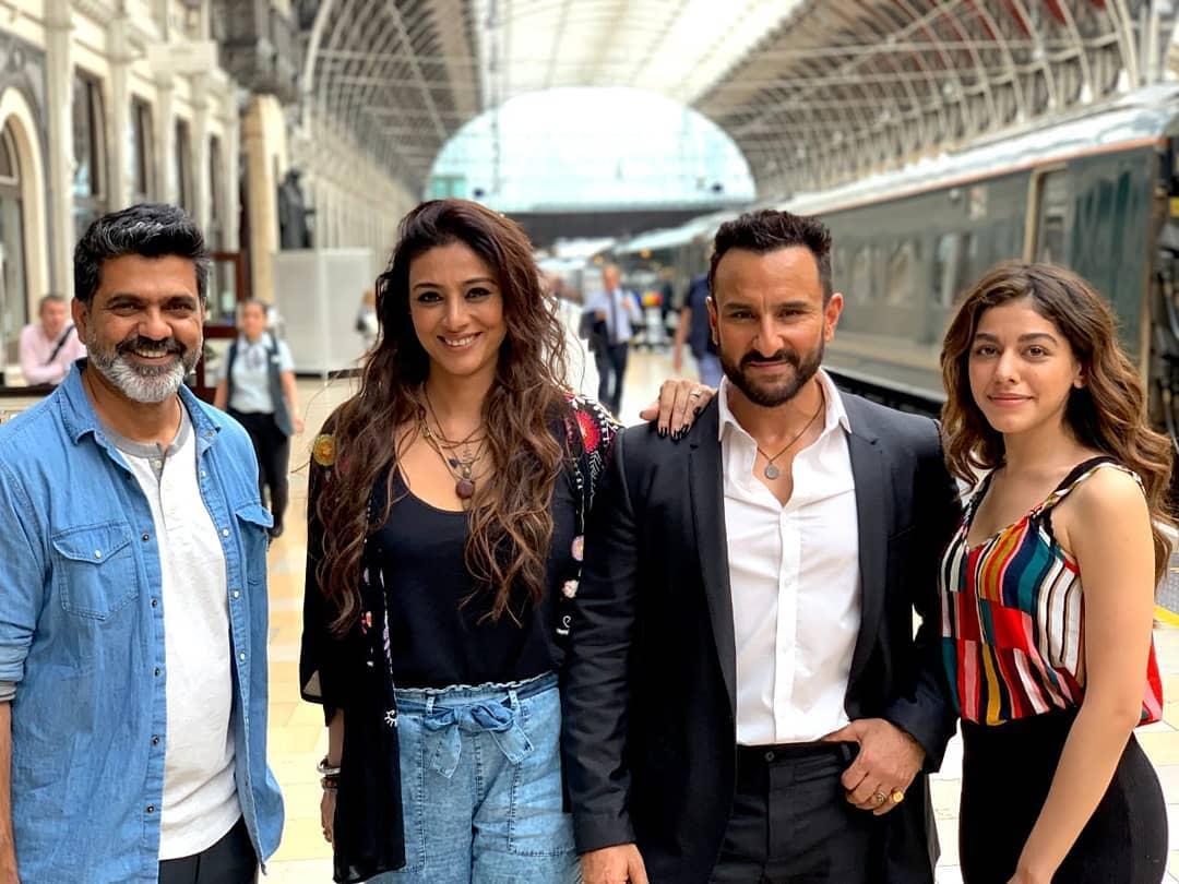 New release date... #JawaaniJaaneman will now release on 7 Feb 2020 [#ValentineDay]... Stars Saif Ali Khan, Alaia F and Tabu... Directed by Nitin Kakkar. <br>http://pic.twitter.com/6Ca6mUCPG6