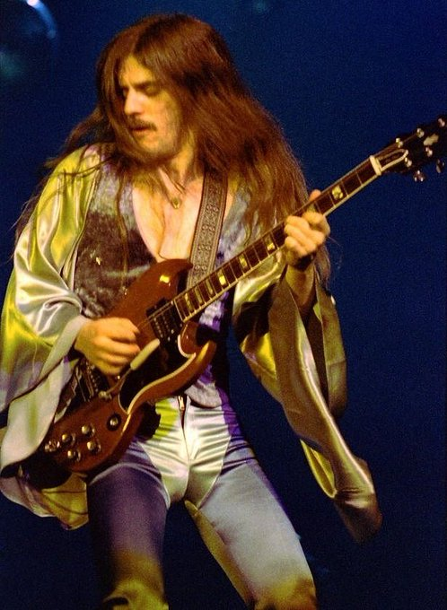 Happy Birthday to Mahogany Rush guitarist Frank Marino, born on this day in Montreal, Quebec, Canada in 1954.